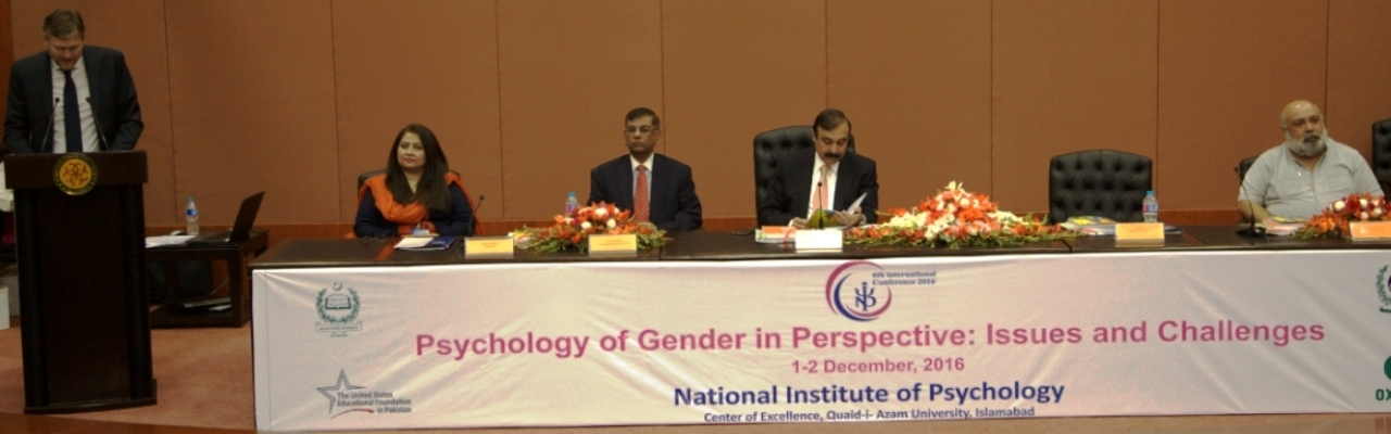 Glimpses from 6th International Conference on Psychology of Gender in Perspective: Issues and Challenges held on December 1-2, 2016